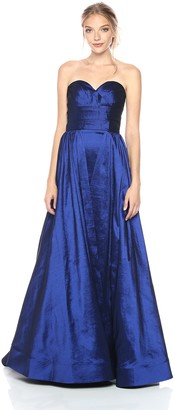 Mac Duggal Women's Strapless Busiter Gown
