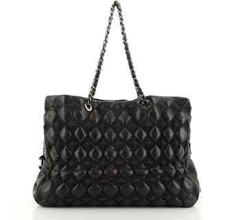 Chanel Paris-Moscow Bubble Pyramid Tote Quilted Lambskin Large