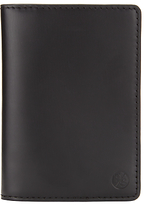 Paul Smith Space Shuttle Leather Credit Card Wallet, Black