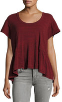 Current/Elliott The Girlie Tee, Aurora Red