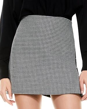 Alice + Olivia Darma Mixed Print Mini Skirt