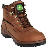 """John Deere Men's Boots WCT 5"""" Waterproof Hiker 3504"""" - Tan Boots"""