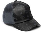 MCM Women's Visetos Logo Baseball Cap - Black