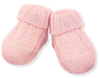 Ralph Lauren Baby's Cable-Knit Booties