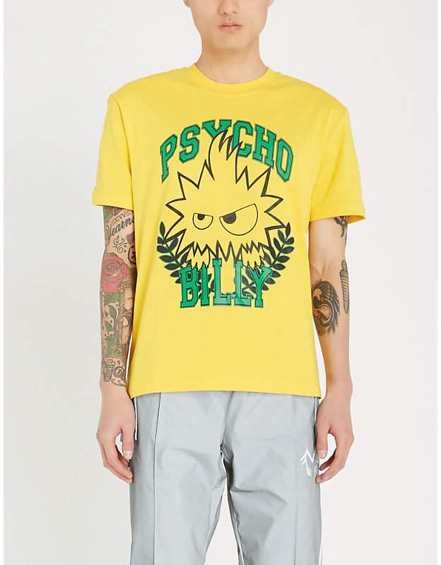 McQ Psycho Billy cotton T-shirt