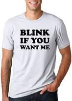 Crazy Dog T-shirts Crazy Dog Tshirtsens Blink If You Wante Funny Flirting Pick Up Line T shirt