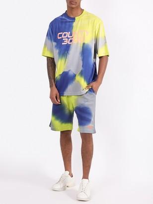 Marcelo Burlon County of Milan County 3000 Tie-dye Shorts