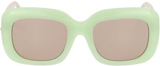Linda Farrow Lavinia C5 Rectangular Sunglasses