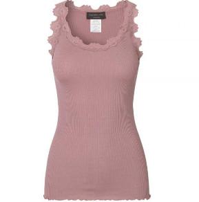 Rosemunde Rose Taupe Silk Cotton Blend Camisole - LARGE - Pink