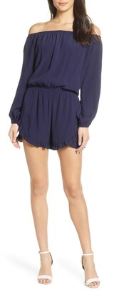 Fraiche by J Off the Shoulder Romper