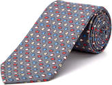 Cole Haan Grey Fishy Fishy Silk Tie