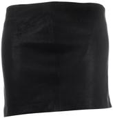 TWENTY 8 TWELVE - Leather mini skirt