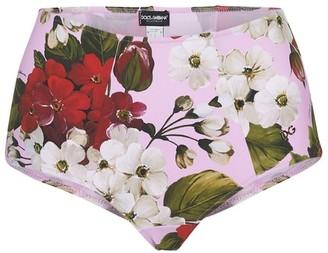 Dolce & Gabbana Flowers bikini bottoms