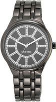Nine West Grey bracelet grey dial silver watch