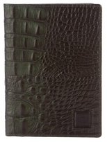 MCM Embossed Leather Travel Wallet