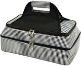 Picnic at Ascot Houdstooth Two-Layer Food Carrier