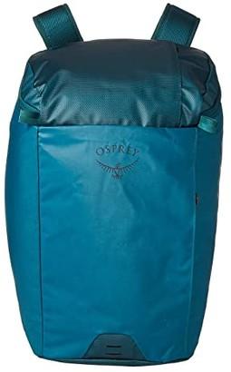 Osprey Transporter Zip Top (Westwind Teal) Backpack Bags
