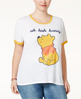 Freeze 24-7 Trendy Plus Size Winnie The Pooh Graphic T-Shirt