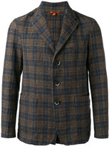 Barena checked blazer - men - Cotton/Polyester - 50