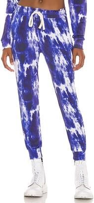Stripe & Stare Ink Tie Dye Lounge Pant