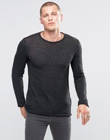 Diesel K-tiger-a Jumper Raw Edge