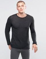 Diesel K-Tiger-A Sweater Raw Edge