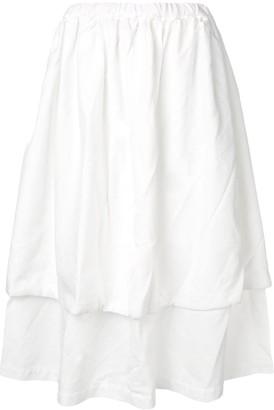 Comme des Garçons Comme des Garçons Layered Midi Skirt