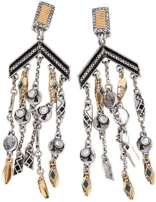 Lulu Frost Silver Metal Earrings