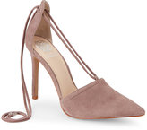 Vince Camuto Mystery Mauve Nitta Pointed Toe High Heel Lace Up Pumps