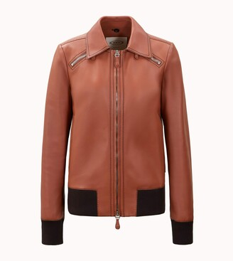 Tod's Aviator Jacket in Leather