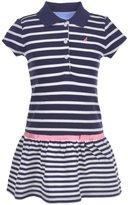 "Nautica Little Girls' ""Boardwalk"" Pique Polo Dress"