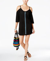 Dotti Jewl Tones Beaded Cold-Shoulder Cover-Up