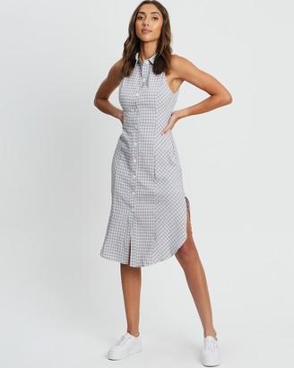Calli - Women's White Midi Dresses - Mia Shirt Dress - Size 6 at The Iconic