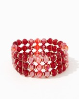 Charming charlie Beads In The Round Stretch Bracelet