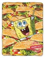 Nickelodeon NickelodeonTM SpongeBob Mass Patties Throw Blanket
