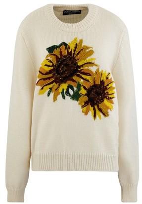 Dolce & Gabbana Sunflower jumper