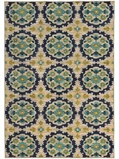 "StyleHaven Harper Panel Floral Rug - 9'10"" x 12'10"""