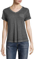 Style And Co. Petite Short-Sleeve V-Neck Tee