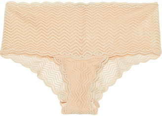Cosabella Sweet Treats Stretch-lace Low-rise Briefs