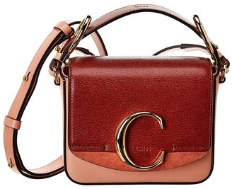 Chloé Tess Day Mini Leather Shoulder Bag