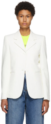 we11done White Oversized Blazer