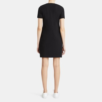 Theory T-Shirt Dress in Stretch Cotton