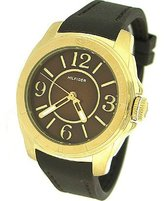 Tommy Hilfiger Kelsey Women's Watch Brown Dial Brown Silicone Strap 1781140