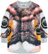 Molo Printed fleece cape - Moth