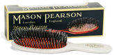 Mason Pearson NEW Ivory Pocket Bristle & Nylon Brush