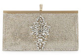 Badgley Mischka Alisha Crystal Pave Embellished Clutch