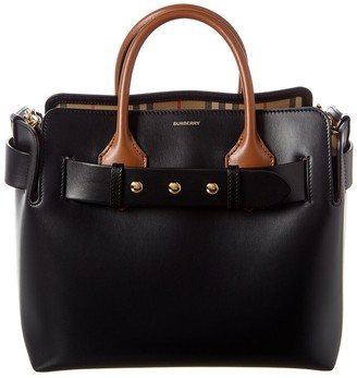 Burberry Small Triple Stud Belt Bag Leather Tote