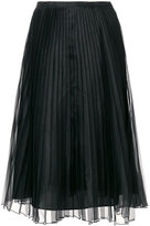 Blugirl pleated layer skirt