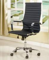 FOA Sason Height Adjustable Office Chair Upholstered in Leatherette