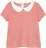 Petit Bateau Striped A-line cotton blouse 3-36 months